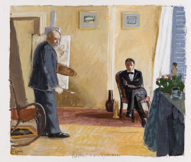 Vuillard and Bix Beiderbecke