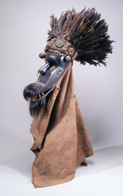 Poro Society Horizontal Mask (Kpakalogi Sinei)