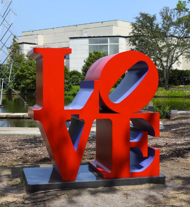 Love Red Blue New Orleans Museum Of Art