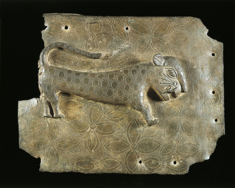 plaque-with-leopard