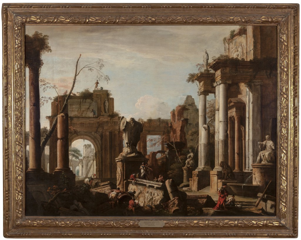 Imaginary Scene with Ruins and Figures | New Orleans Museum of Art