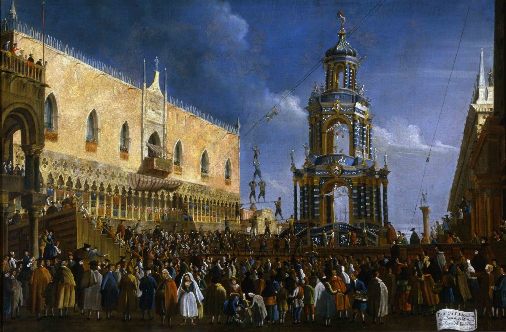 Gabriel Bella, Fat Thursday Festivity in Piazzetta, 18th century, Venice, Querini Stampalia Foundation
