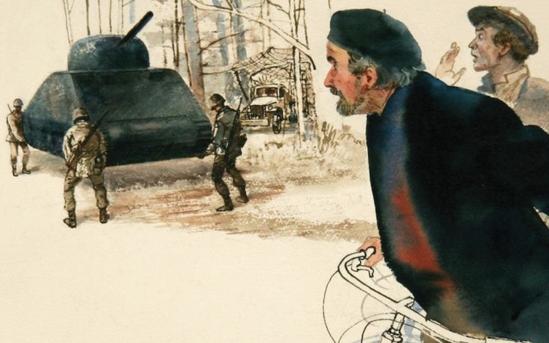 """World War II Soldier-Artists Honored in """"Ghost Army"""" Documentary"""