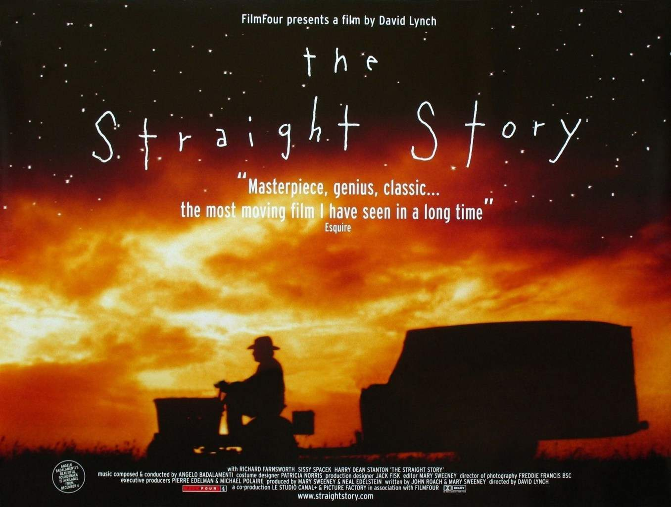 David Lynch Film Retrospective | The Straight Story | New Orleans ...