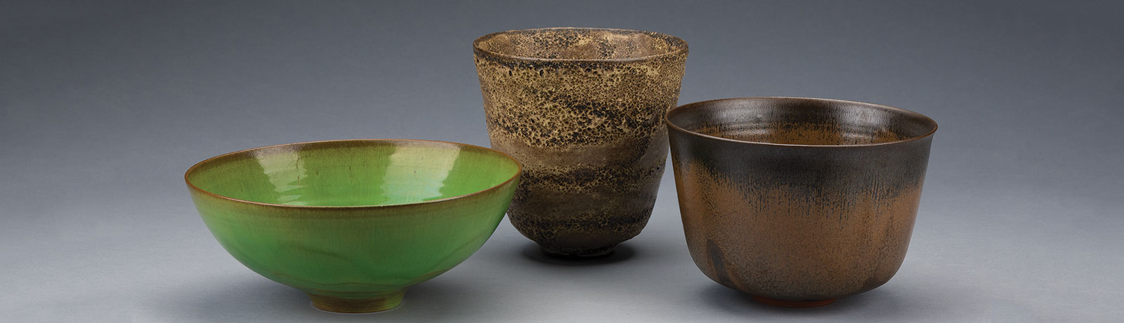 E. John Bullard's collection of American Studio Pottery from the latter half of the twentieth century is on display through July 8th.