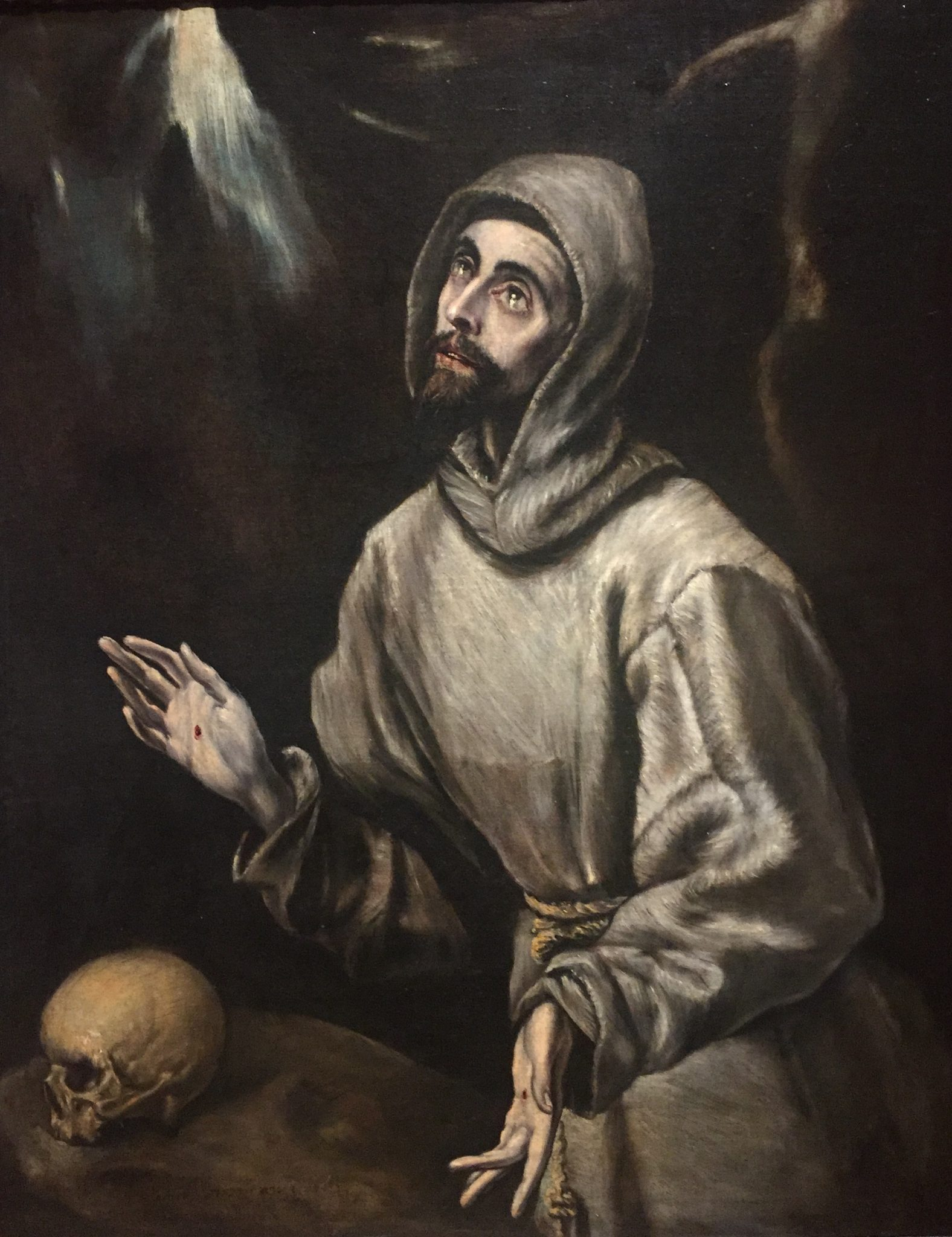 If you dare nomas galleries and garden include frightful el greco dominio theotokopoulos and studio st francis c 1570 oil on canvas lent by the estate of william g helis biocorpaavc Choice Image