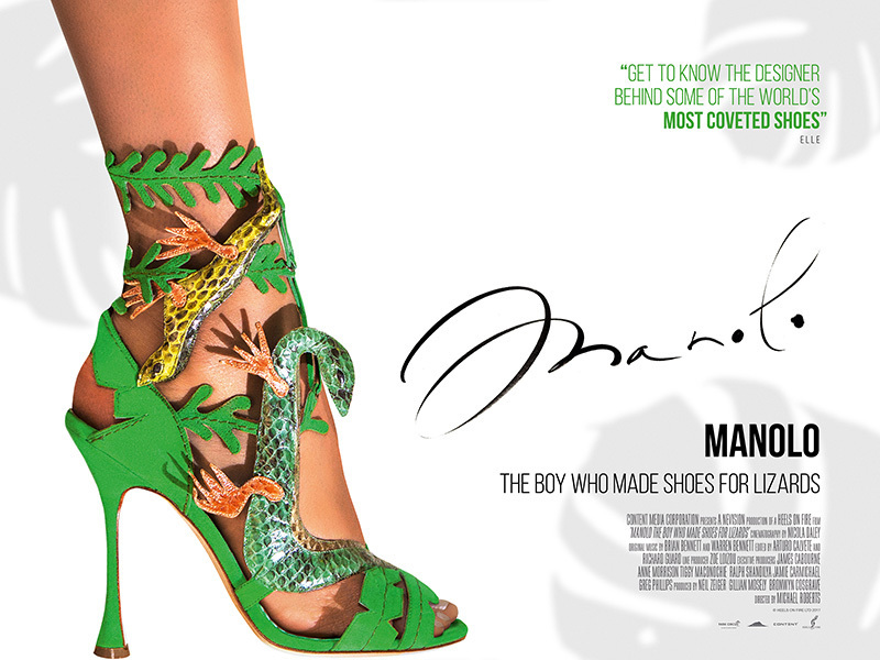 9af31e8ea35c Fashion on Film Series  Manolo  The Boy Who Made Shoes for Lizards ...