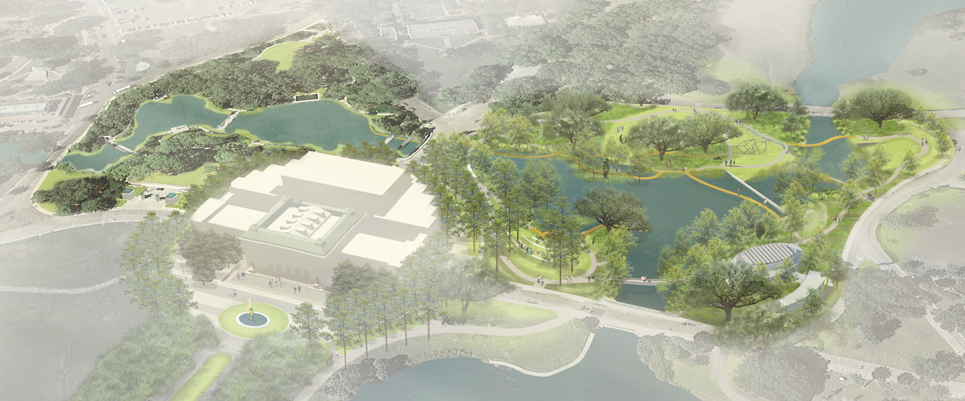 NOMA TO BREAK GROUND ON SIX ACRE EXPANSION OF THE Sydney And Walda Besthoff  Sculpture Garden