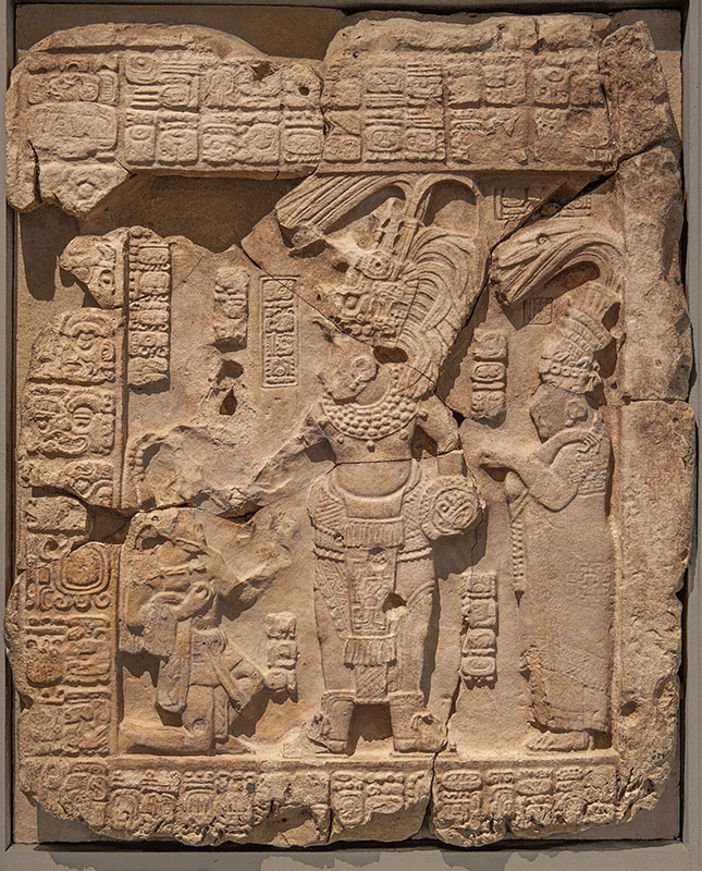 Carved Wall Panel Commemorating a Military Victory by a Warrior King ...
