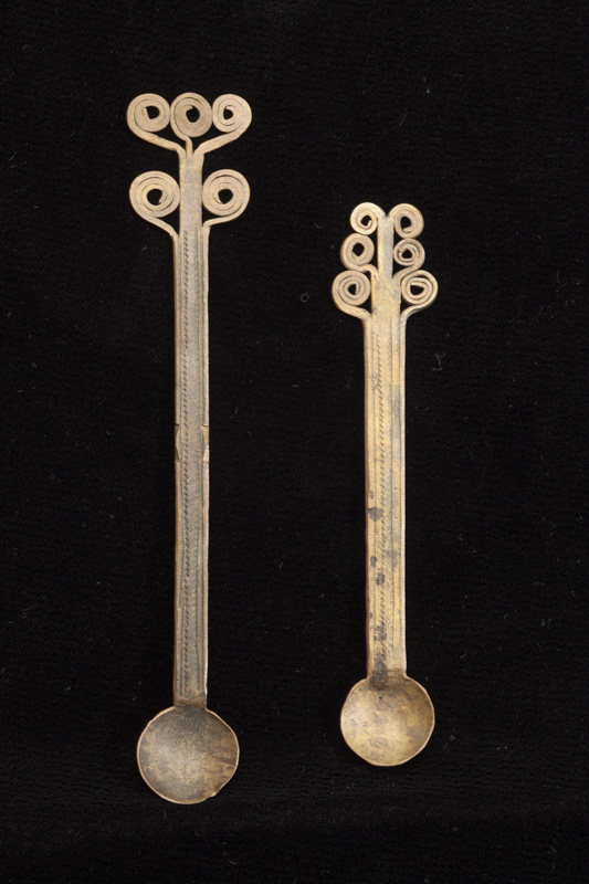 Pair of Golddust Spoons