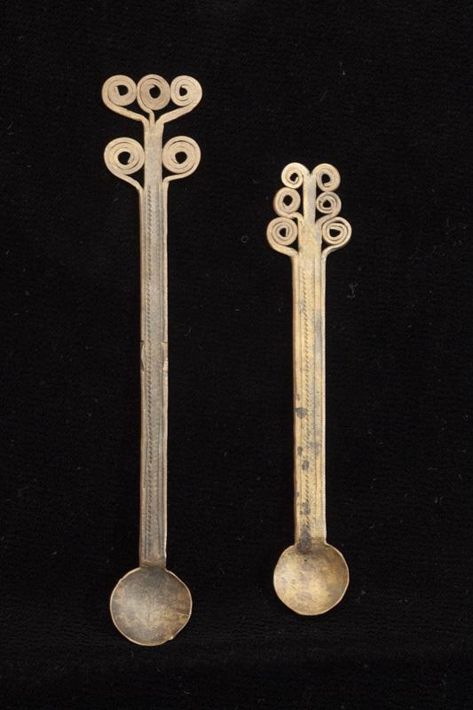 Pair of Golddust Spoons