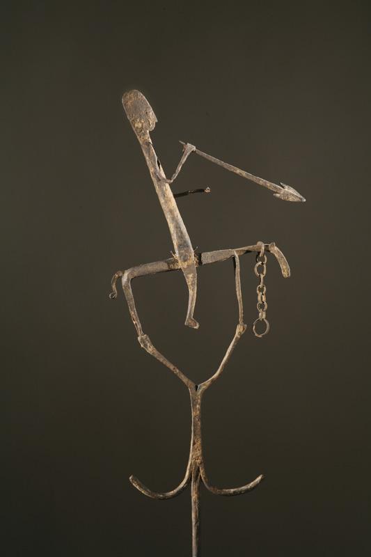 Staff with Equestrian Figure (nègèsotigi or kala nege)