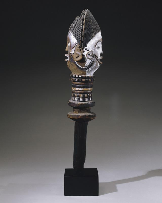 Janus Head for Dance Figure (kebe kebe)