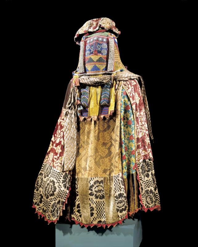 Egungun Masquerade Dance Costume (ekuu egungun)