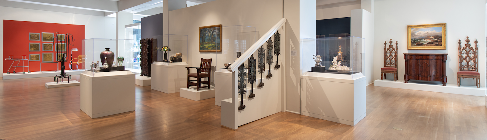 The newly reimagined decorative arts galleries now include works from the 20th and 21st centuries.