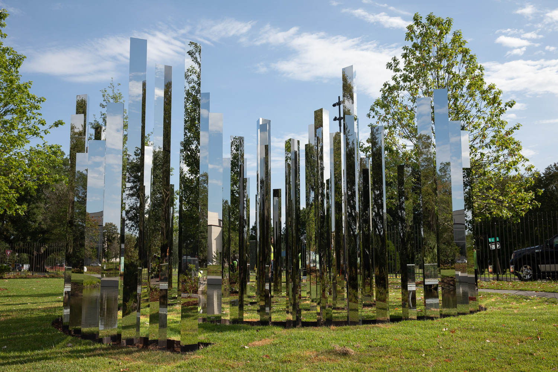 Mirror Labyrinth Besthoff Sculpture Garden New Orleans Museum