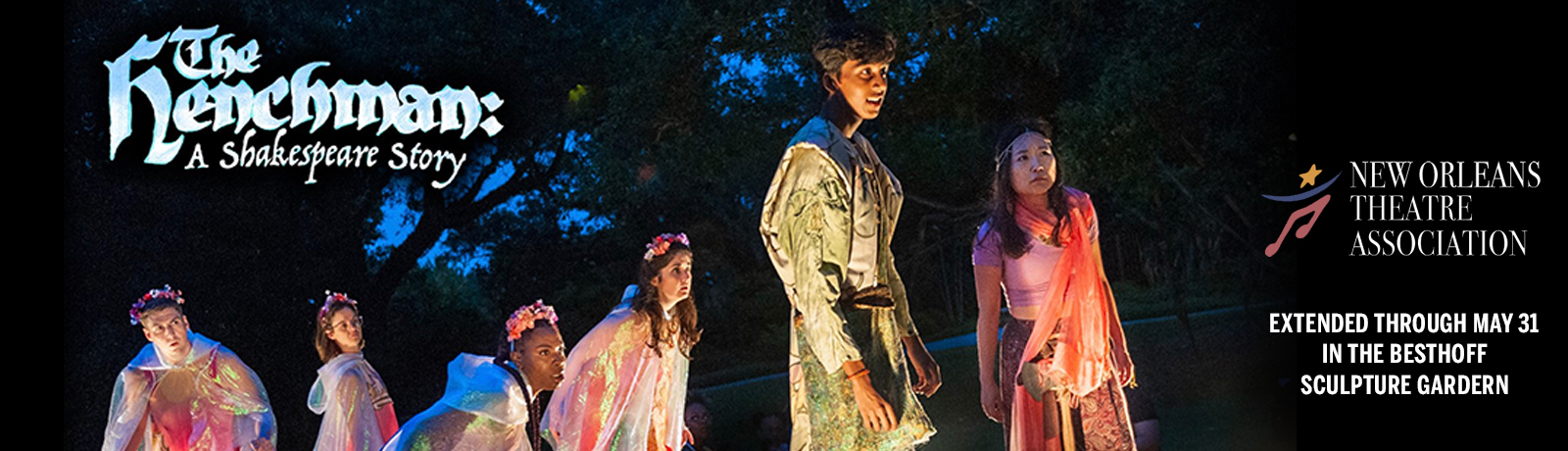 Gather in the Besthoff Sculpture Garden for an imagined sequel to William Shakespeare's A Midsummer Night's Dream.
