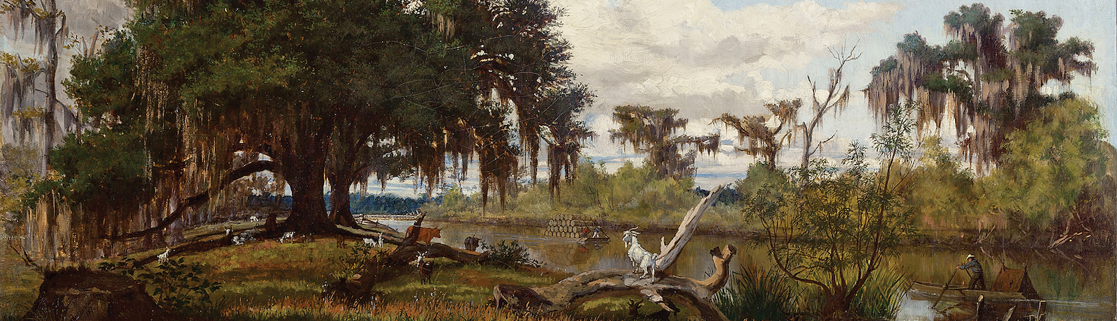Nineteenth-century artists drawn to Louisiana's swamps, bayous, and riverways redefined the genre of landscape painting.