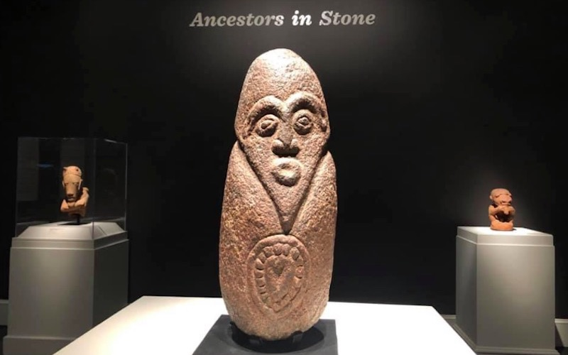Ancestors in Stone exhibition features rare African monolith