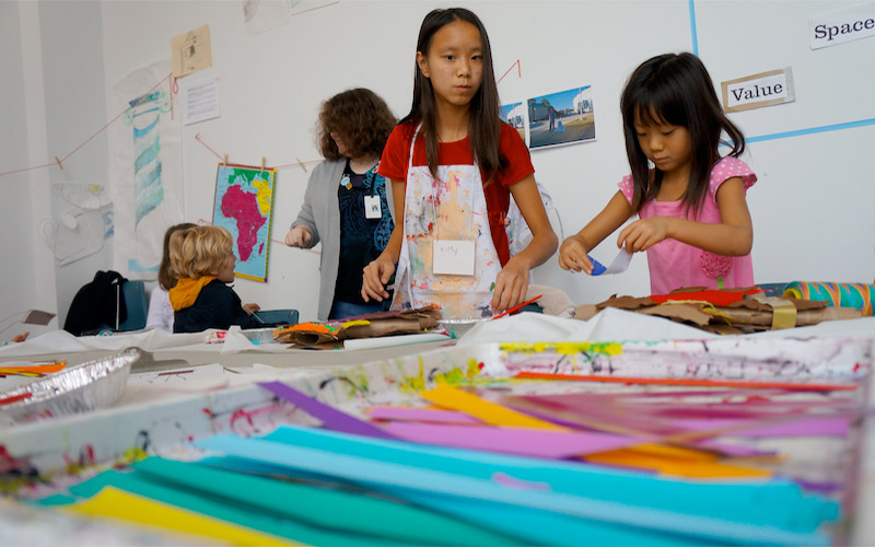 Enroll in Studio KIDS! Saturday workshops for children ages 5 to 10
