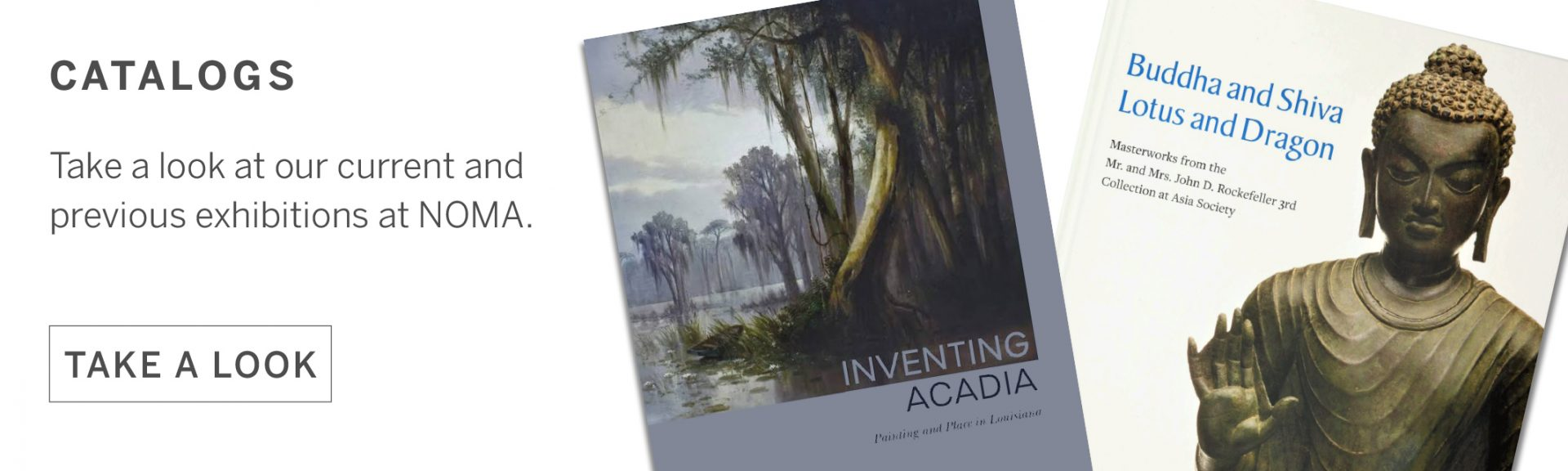 We stock books and catalogs covering the full history of art.