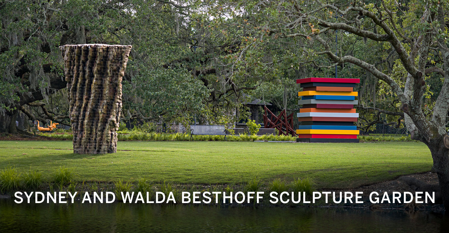Find inspiration among 90 works of art in a picturesque Louisiana landscape.