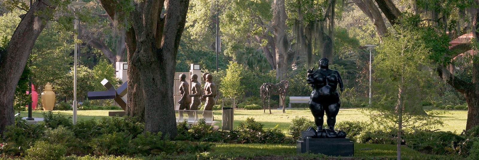 Stroll among more than 90 works of art in a scenic Louisiana landscape.