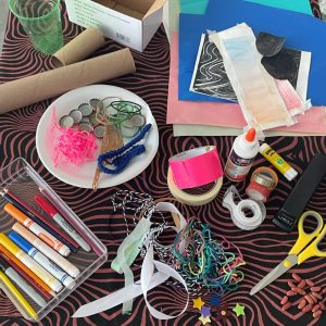 Materials for Yardi Gras Music Makers
