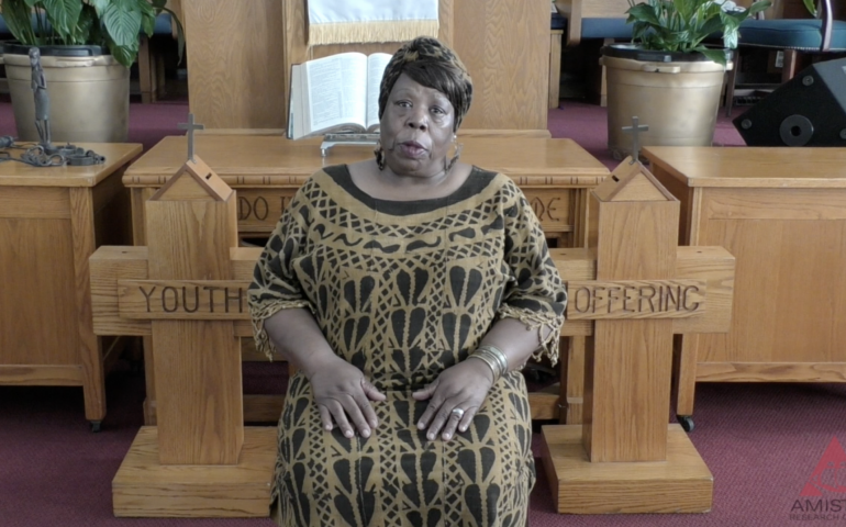 Lorna Woods, descendent of AfricaTown USA